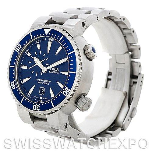 Oris Divers Date Mens Automatic Watch 7609 SwissWatchExpo