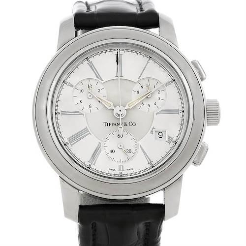 Photo of Tiffany Men's Steel Chronograph Watch