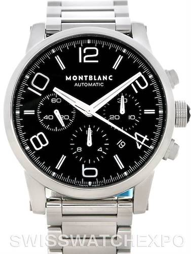 Photo of Montblanc Timewalker Stainless Steel Mens Watch 9668