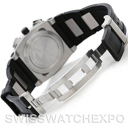 5561 Bvlgari Ergon Mens Automatic Stainless Steel Chronograph Watch EG 40 SCH SwissWatchExpo