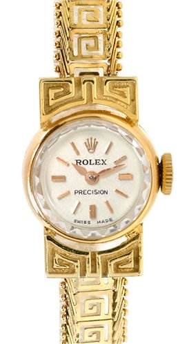 Photo of Rolex Vintage Ladies 18k Yellow Gold Watch
