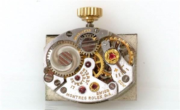 Rolex Vintage Ladies 14k Yellow Gold Diamond Watch SwissWatchExpo