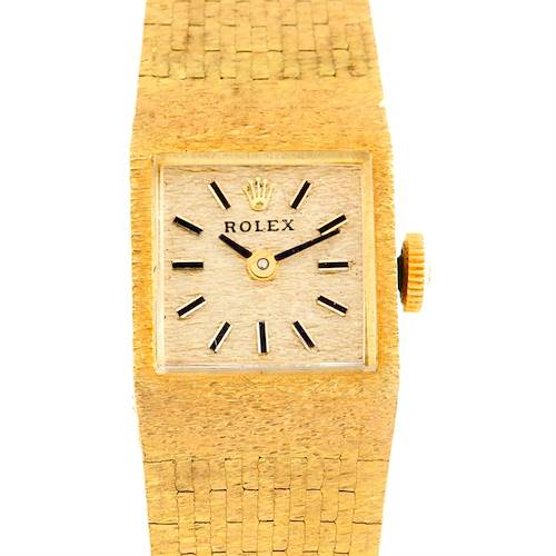 Photo of Rolex Ladies 14k Yellow Gold Vintage Watch 4281