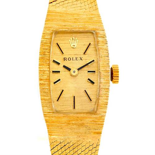 Photo of Rolex Ladies 14k Yellow Gold Vintage Watch 8422