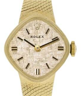 Photo of Rolex Vintage Ladies 14k y Gold Watch