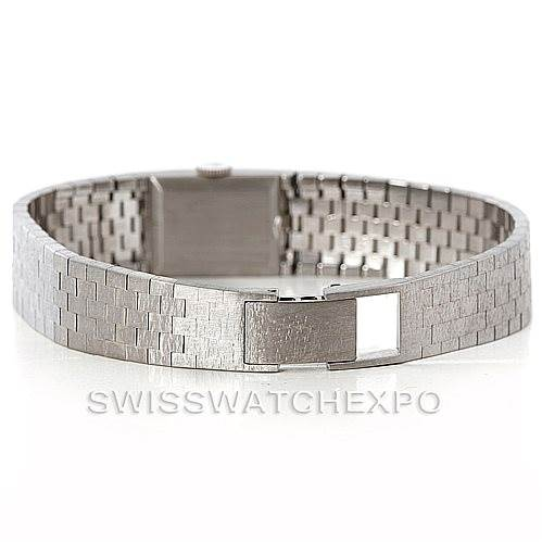 2516 Rolex Ladies 18k White Gold Vintage Watch SwissWatchExpo