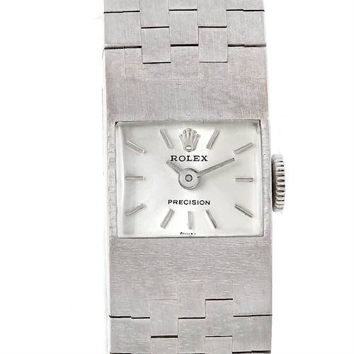 Photo of Rolex Ladies 18k White Gold Vintage Watch