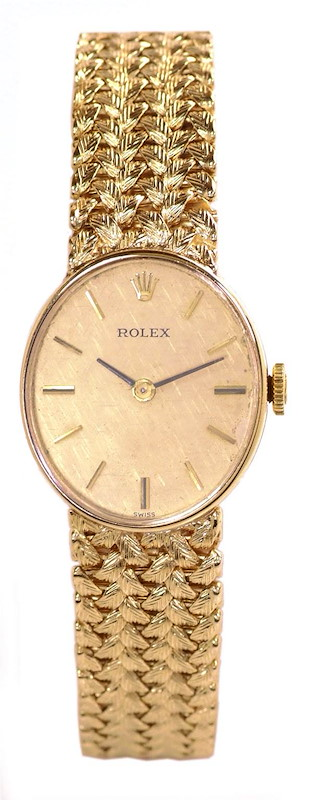 Rolex Vintage Ladies 14k Yellow Gold Watch SwissWatchExpo