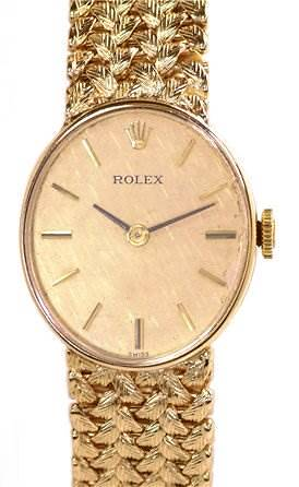 Photo of Rolex Vintage Ladies 14k Yellow Gold Watch