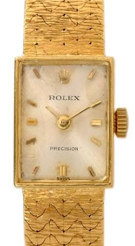 Photo of Rolex Vintage Ladies 18k y Gold Watch