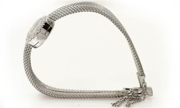Rolex Vintage Ladies White Gold Diamond Watch SwissWatchExpo