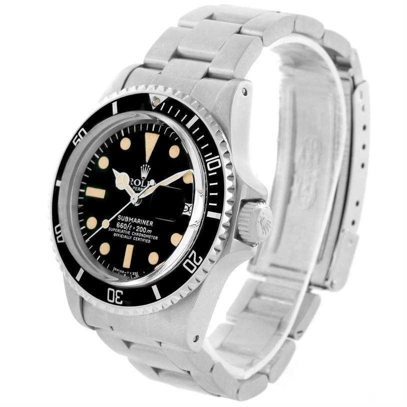 rolex submariner vintage stainless steel mens 1680