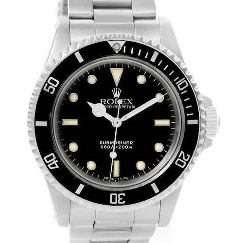 Photo of Rolex Submariner Vintage Stainless Steel Mens Watch 5513