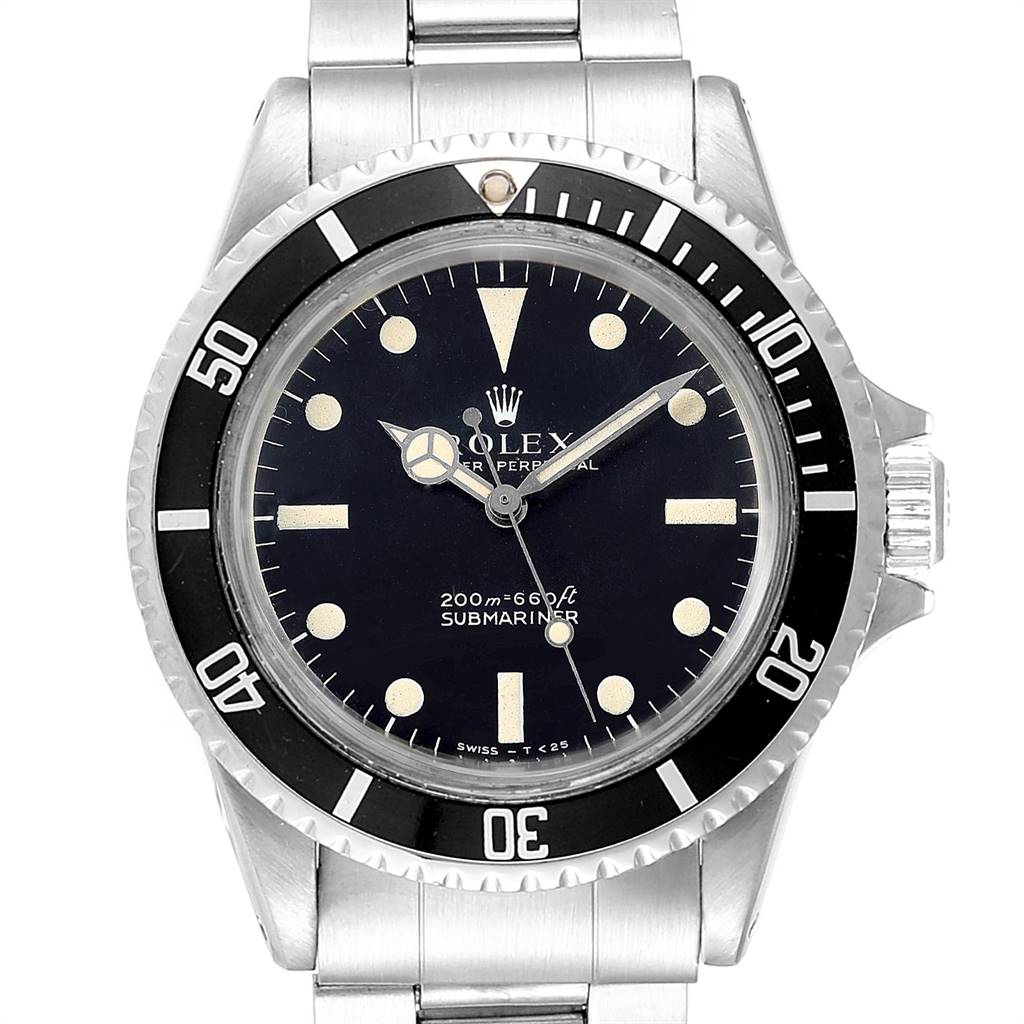 Rolex Submariner Automatic Steel Vintage Mens Watch 5513 Box Papers