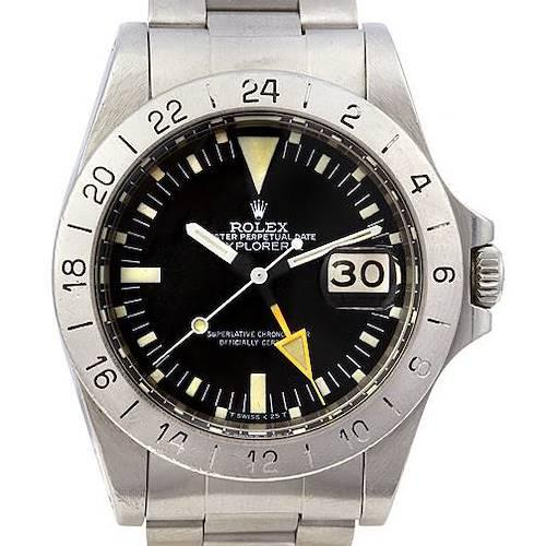Photo of Rolex Explorer II 1655 Steve Mcqueen Vintage Watch Circa 1970