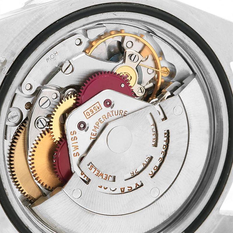 Rolex GMT Master Gilt Dial Pepsi Bezel Vintage Mens Watch 1675 SwissWatchExpo