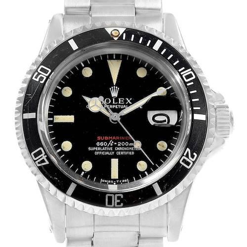 Photo of Rolex Submariner Vintage Mark IV Dial Steel Mens Watch 1680