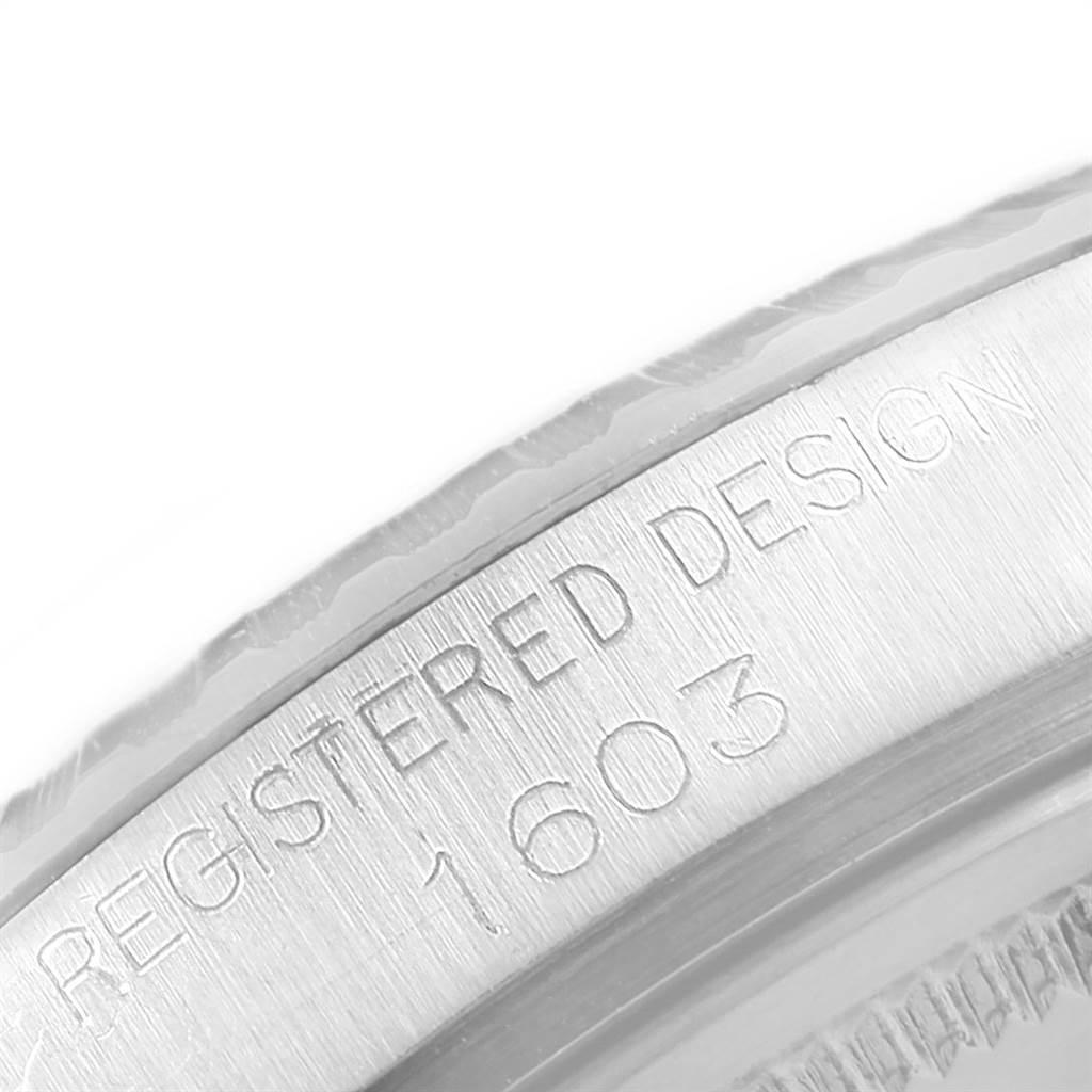 20594 Rolex Datejust 36mm Automatic Steel Vintage Mens Watch 1603 SwissWatchExpo