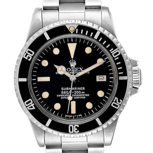 Photo of Rolex Submariner Vintage Stainless Steel Mens Watch 1680