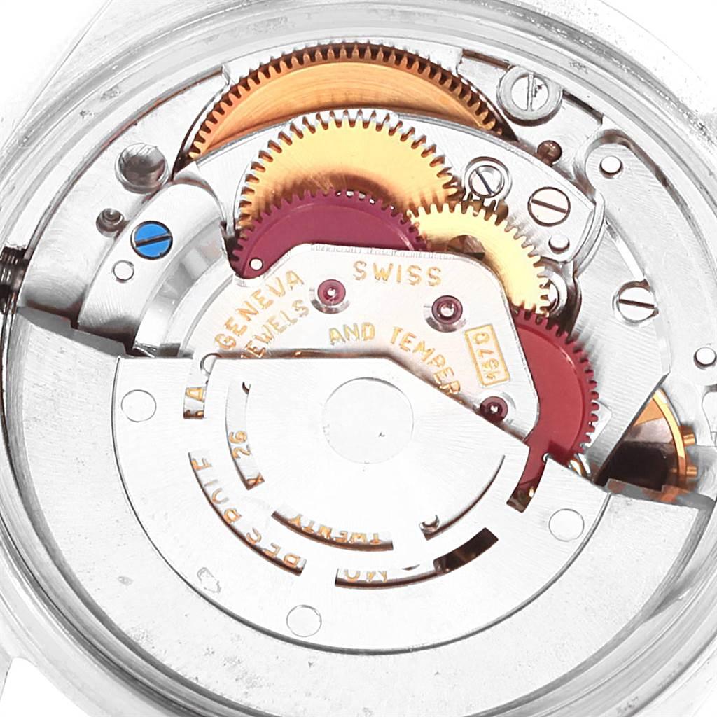 22145 Rolex Datejust Steel Yellow Gold Vintage Mens Watch 1601 SwissWatchExpo