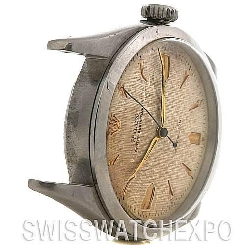 2523 Rolex Vintage Pre Explorer 6298 Year 1953  SwissWatchExpo