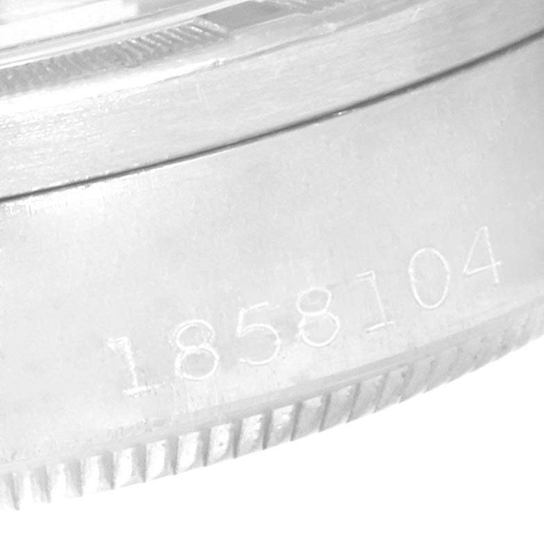 Rolex Date Vintage Silver Baton Dial Stainless Steel Mens Watch 1501 SwissWatchExpo
