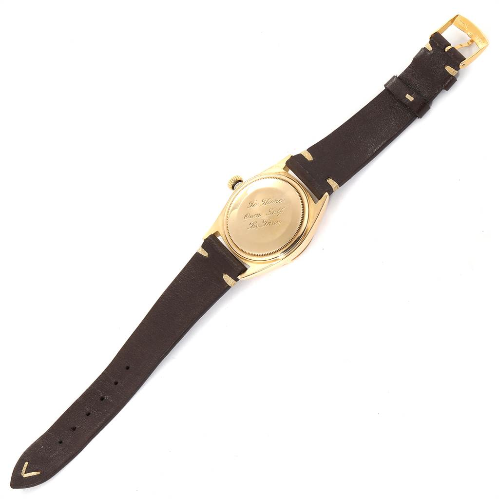 22476 Rolex President Day-Date Vintage Yellow Gold Mens Watch 1803 SwissWatchExpo