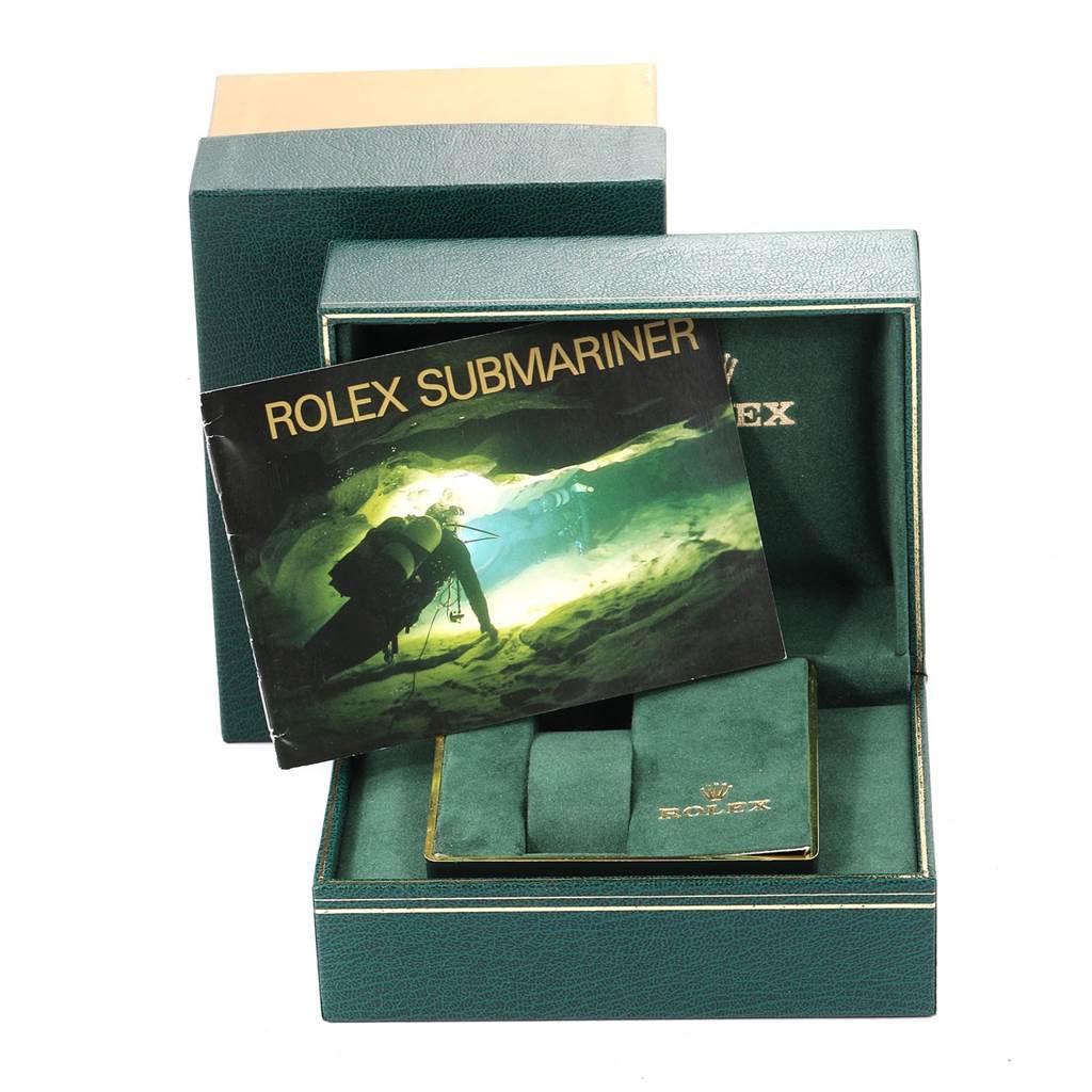 23525 Rolex Submariner Date Steel Mens Vintage Watch 16800 Box SwissWatchExpo