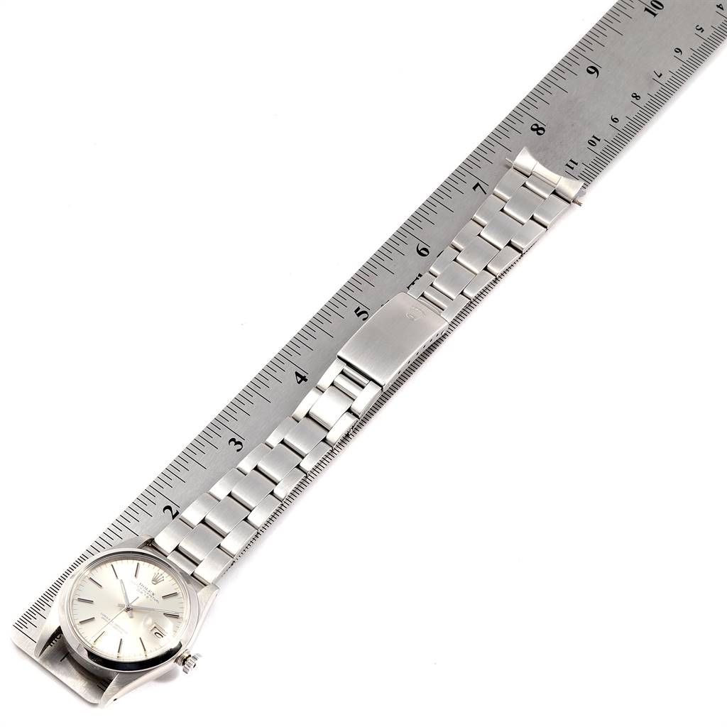 9619X Rolex Date Automatic Stainless Steel Vintage Mens Watch 1500 SwissWatchExpo