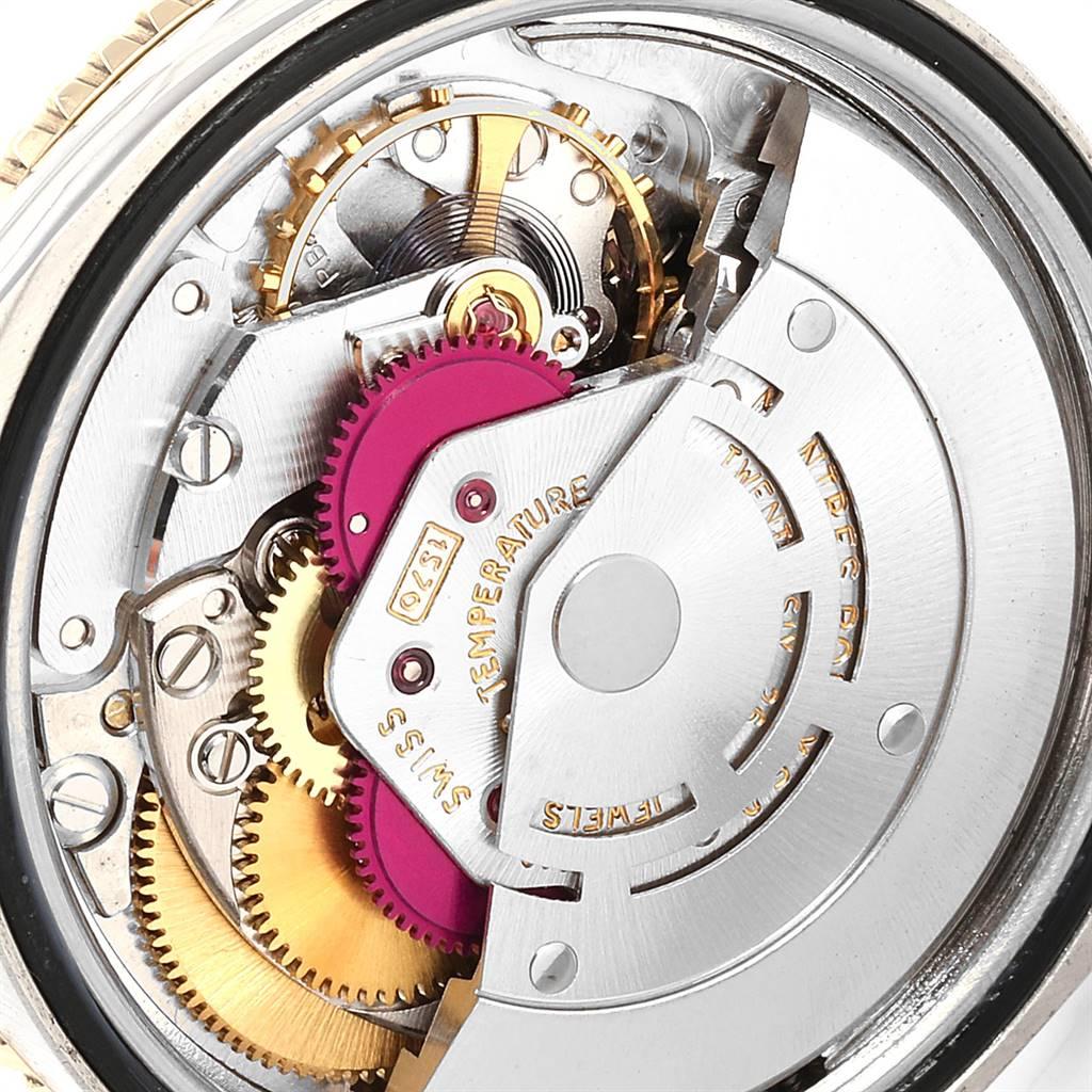 Rolex Datejust Turnograph Steel Yellow Gold Vintage Mens Watch 1625 SwissWatchExpo