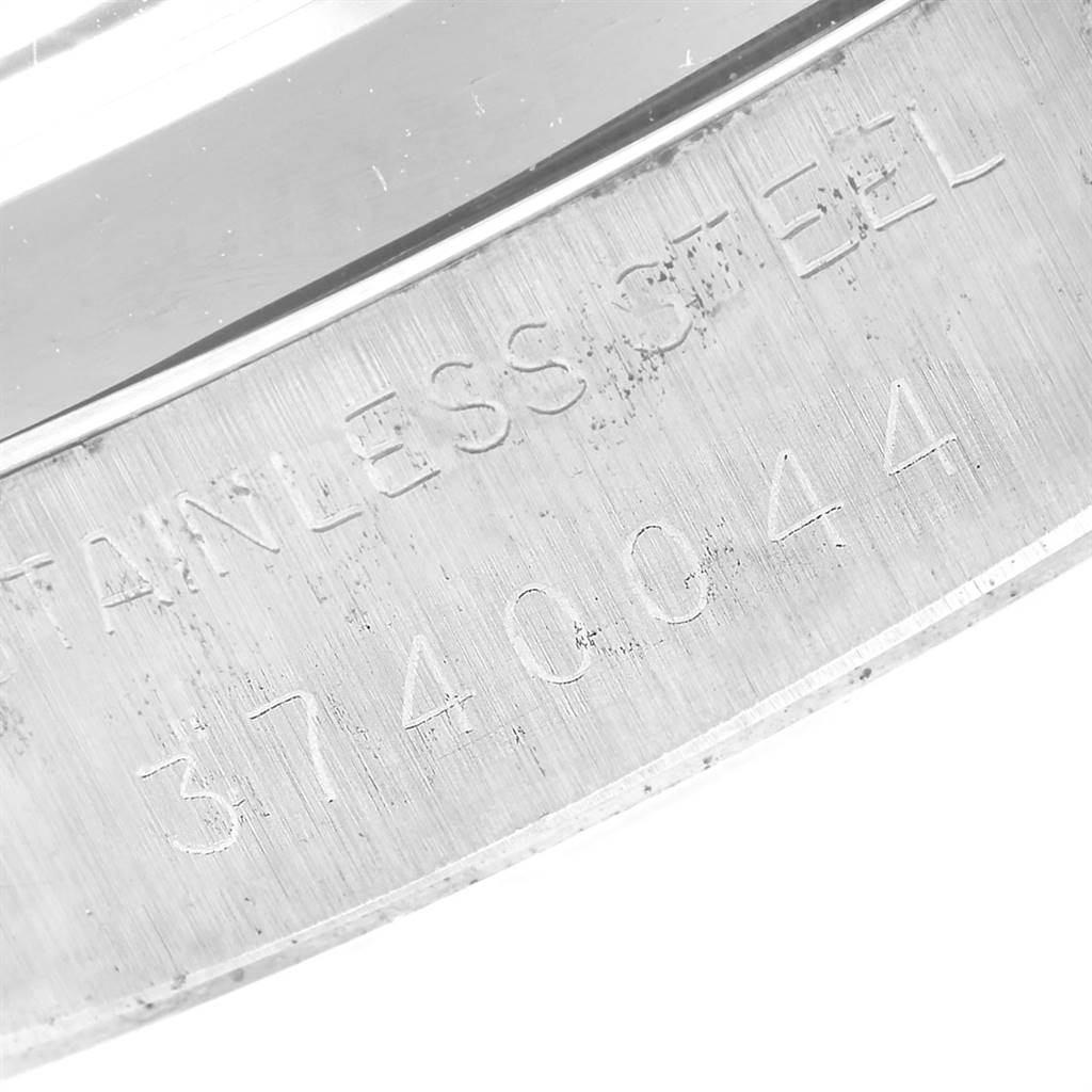 21231 Rolex OysterDate Precision Steel Silver Dial Vintage Mens Watch 6694 SwissWatchExpo