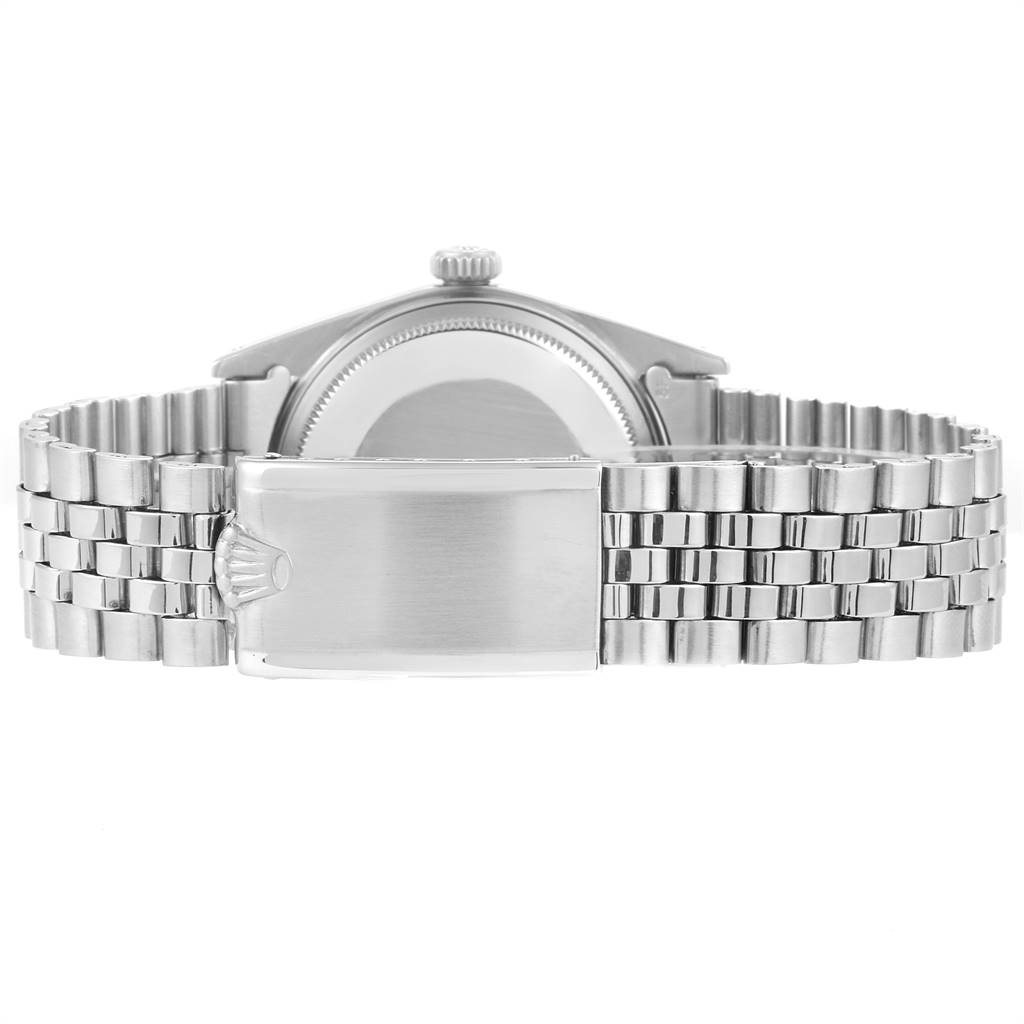 23962 Rolex Datejust Silver Dial Jubilee Bracelet Vintage Mens Watch 1603 SwissWatchExpo