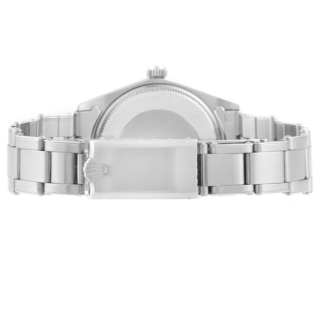 24405 Rolex Air King Vintage Stainless Steel Grey Dial Mens Watch 5500 SwissWatchExpo
