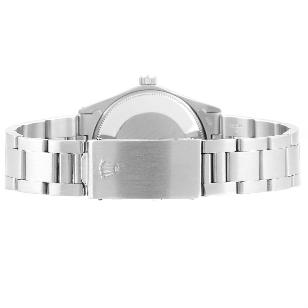 24552 Rolex Oyster Perpetual Silver Dial Vintage Steel Mens Watch 1003 SwissWatchExpo