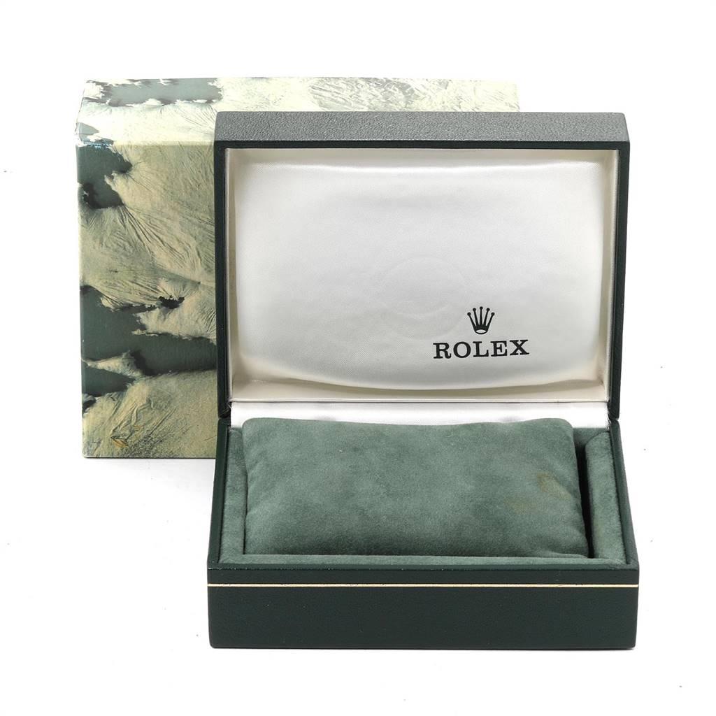 23992 Rolex Datejust Silver Dial Jubilee Bracelet Vintage Mens Watch 1603 SwissWatchExpo