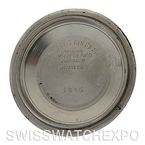 Rolex  Explorer Vintage Stainless Steel Watch 1016 Year 1971 -1972 SwissWatchExpo