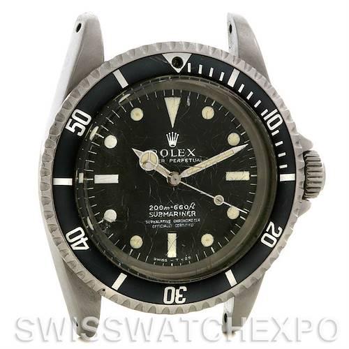 Photo of Rolex Submariner Vintage Steel Watch 5512