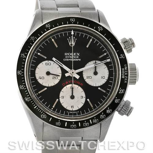 Photo of Rolex Cosmograph Daytona Vintage Stainless Steel Watch 6263