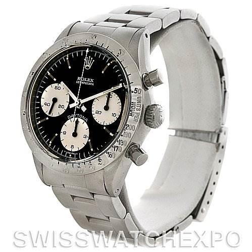 Rolex Cosmograph Daytona Vintage Stainless Steel Watch 6262 SwissWatchExpo