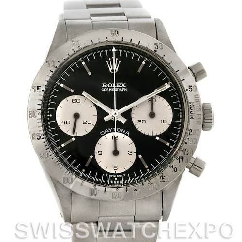 Photo of Rolex Cosmograph Daytona Vintage Stainless Steel Watch 6262