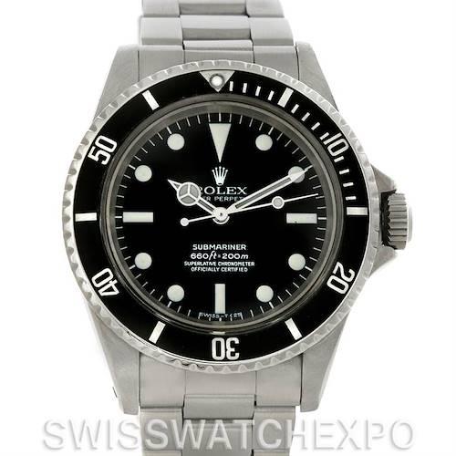 Photo of Rolex Submariner Vintage Steel Men's Watch 5512
