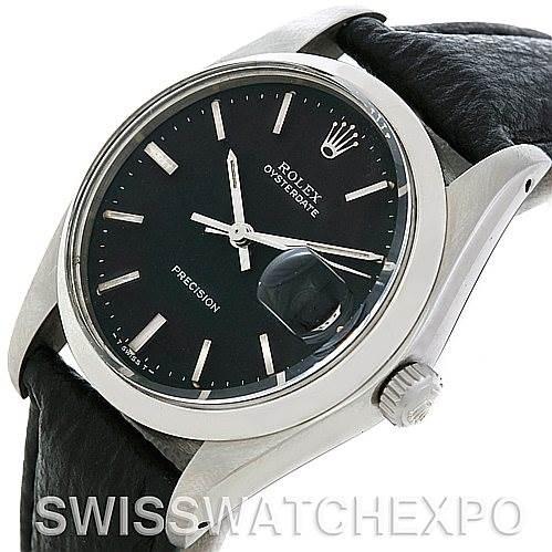 5056 Rolex OysterDate Vintage Steel Watch 6694 SwissWatchExpo