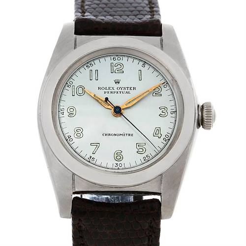 Photo of Rolex Vintage Oyster Perpetual Bubbleback Watch 2940