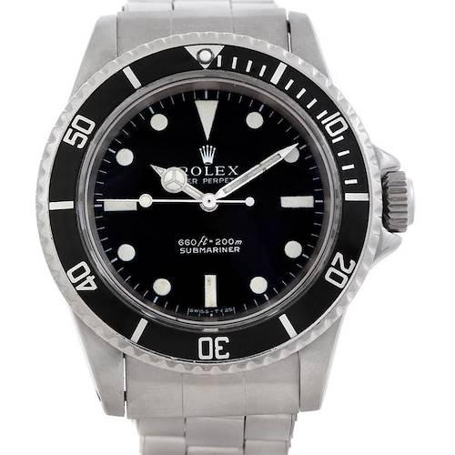Photo of Rolex Submariner 5513 Vintage Stainless Steel mens Watch