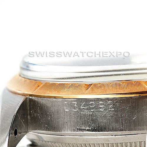 6568 Rolex Vintage Mens Steel 14K Yellow Gold Zephyr Dial Watch 6582 SwissWatchExpo