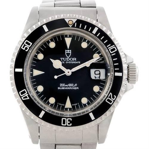 Photo of Tudor Submariner Vintage Steel Mens Watch 79090