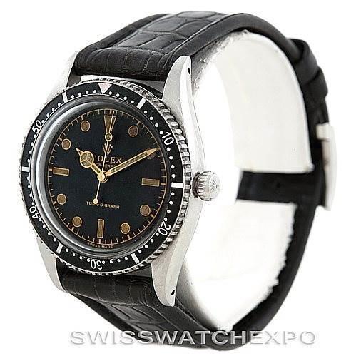Rolex Vintage Turnograph Steel Watch 6202 SwissWatchExpo