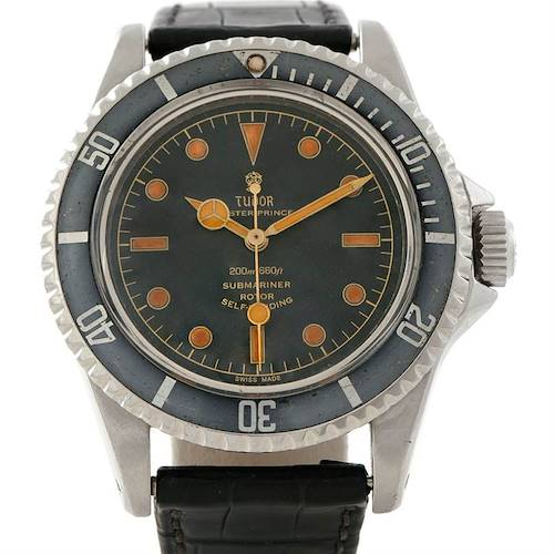 Photo of Tudor Submariner Pointed Guards Vintage Steel Mens Watch 7928