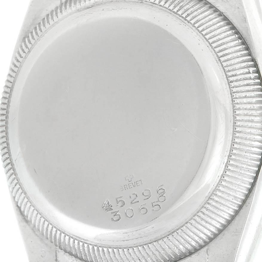 7353 Rolex Oyster Perpetual Bubbleback Hooded Lugs Vintage Steel Gold Watch 3065 SwissWatchExpo