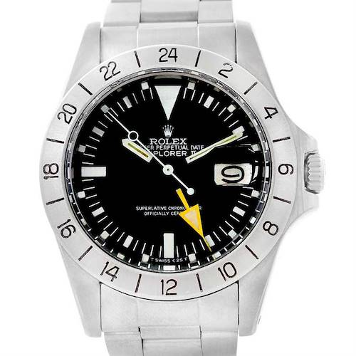 Photo of Rolex Explorer II Steve Mcqueen Vintage Steel Watch 1655